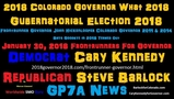 Steve Barlock for Colorado 2018 Front Runner - Had A Phone Number -Barlock Called People Back