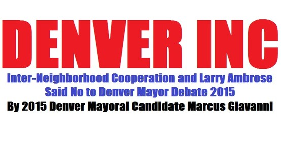 Denver Decides, Denver League of Women Voters, Historic Denver Marcus Giavanni